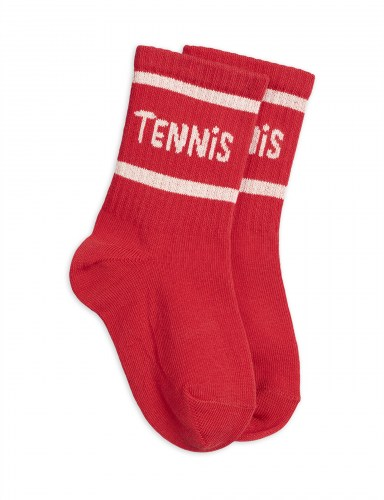Mini Rodini - Tennis socks single red