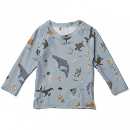 Liewood - Noah swim tee sea creature mix