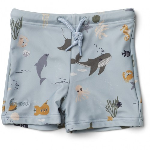 Liewood - Otto swim pants sea creature mix