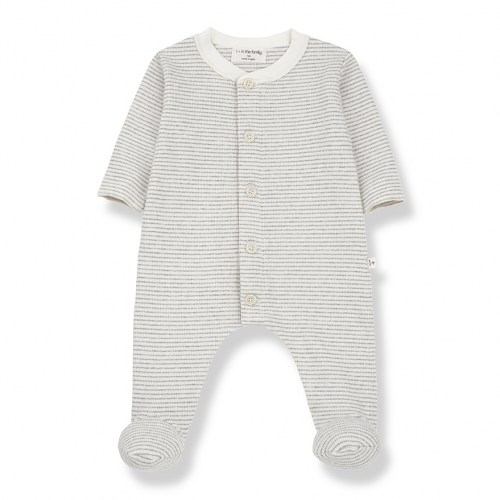 One+ in the family - Marcello jumpsuit ecru