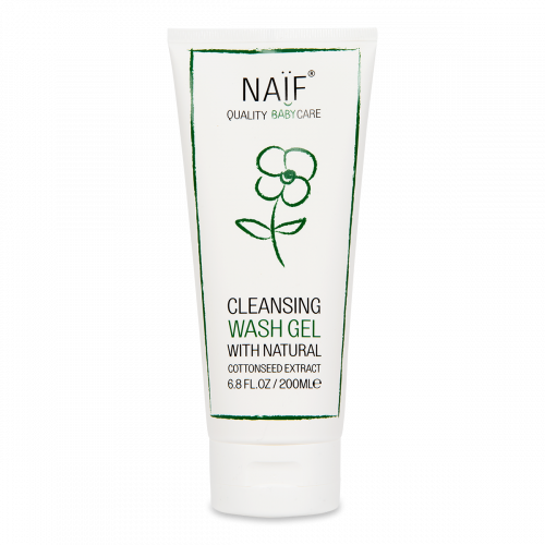 Naïf Baby Cleansing Wash Gel 200ML